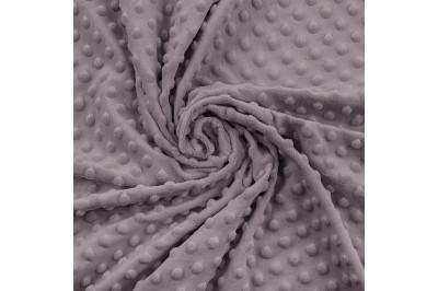Плюш  Dapple Gray серо-фиолетовый в пупырышки
