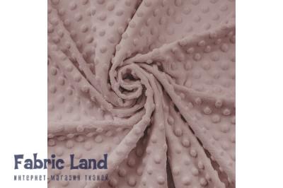 Плюш  Sepia Rose пудровый в пупырышки