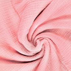 Нежно розовый муслин
